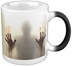 Color Changing Zombie Mug Hot Cold Heat Sensitive Color Changing Ceramic Mug 11oz
