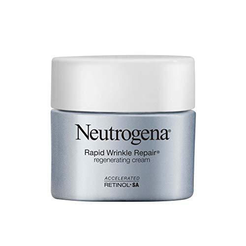 Neutrogena Rapid Wrinkle Repair Retinol Regenerating Anti-Aging Face Cream & Hyaluronic Acid;...