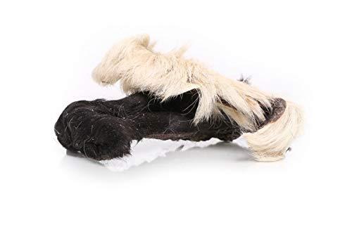 Grobys Fellstreifen Rinderkopfhaut mit Fell in ca. 15 cm Stücke geschnitten, Verpackungseinheit:1 Kilogramm