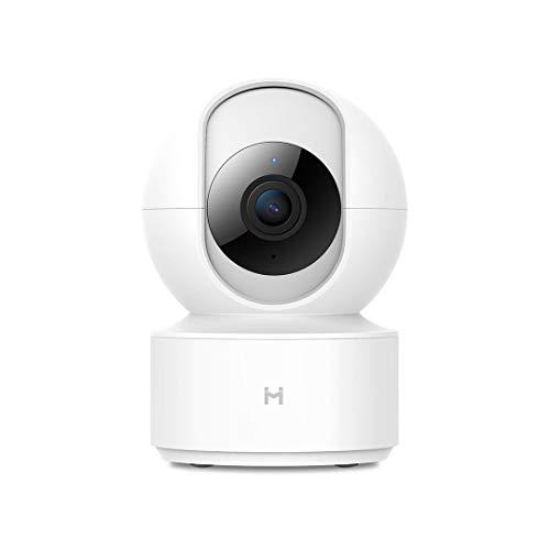 Imilab - Cámara de vigilancia con WiFi (1080p, visión nocturna, audio de 2 vías, alarma remota, detección de movimiento, control de aplicación para móvil)