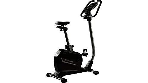 ENERGETICS Unisex– Erwachsene Ergometer CT 955hx Fitnessbike, Black/Silver, 1