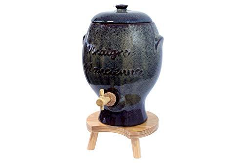 Duhalle 327 Essigtopf, antik, Keramik, Grau, One