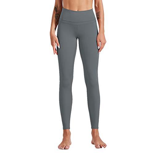 JPDD Women Yoga Pants High Waist Yoga Leggings Running Pants Workout Gym Leggings Trousers Tummy Control Sport Leggings Tights Sportwear Fitness Running Tight Leggings Trousers Skinny Pants