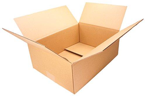 【 日本製 】 ダンボール (段ボール) 10枚セット 80サイズ 引越し 梱包 収納 箱 (33×25×13cm) B2-10