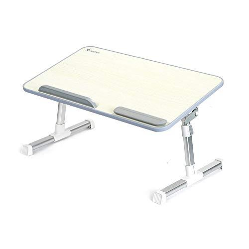 Opklapbaar laptopbureau Verstelbare overheadstandaard Slaapbank Kleine hoek en voorkom glijden Multifunctionele luie klaptafel