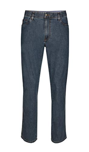 Brühl - Comfort Fit - Herren 5-Pocket Jeans, Genua (0011003163100), Größe:27, Farbe:Blau (910)