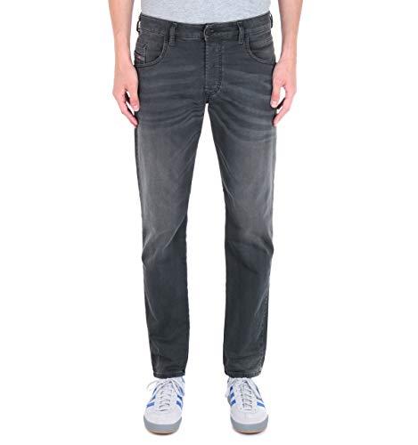 Diesel D BAZER Jeans Hommes Schwarz / 0699p - DE 42/44 (US 33/32) - Straight Leg Jeans