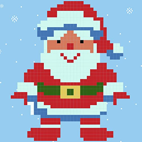 Christmas 2018 Pixel Art Easy Christmas Coloring ( Color by Number Apps )