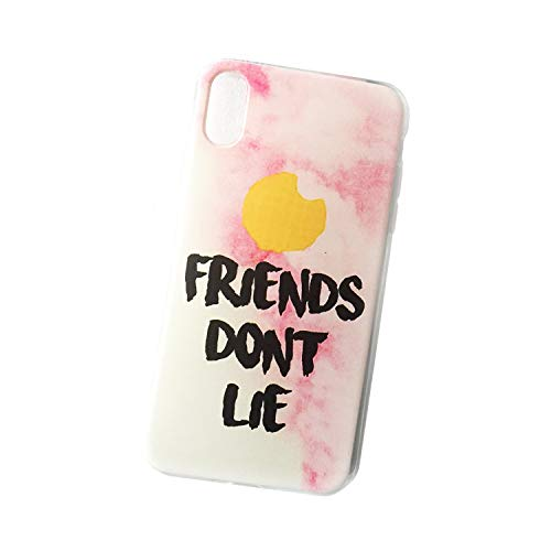Pure Clear Case Cases Cover Compatible for iPhone 6/6s Friends Don't Lie Stranger and Things Fan Art