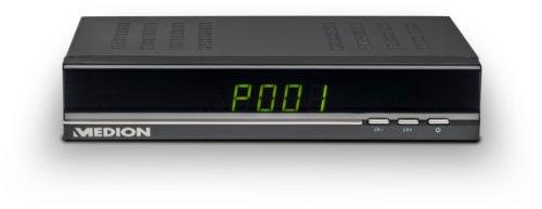 MEDION LIFE P24111 MD 20348 Digitaler HD Satelliten-Receiver HD TV-Receiver, LED Display, EPG, HDMI und USB 2.0 Anschluss, Multifunktions-Timer, Videotext, Radioempfang mit Background-Display