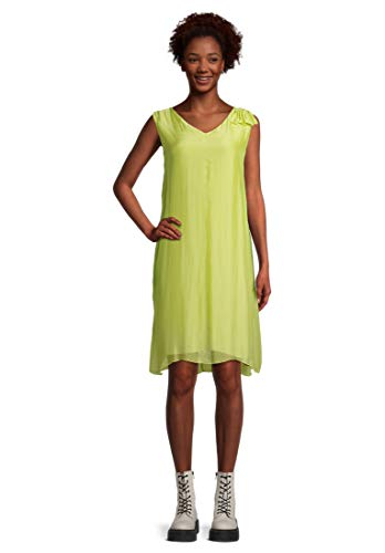 Cartoon Damen 1285/7427 Kleid, Celery Green, 40