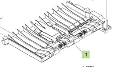 HP RM1-4548-000CN PARTS/PR/PAPER FEED GUIDE ASSEMBLY
