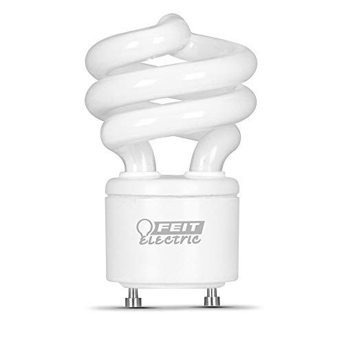 Feit Electric BPESL13T/GU24/41K/6 60W Equivalent 13 Watt 900 Lumen, 3.66' H x 2.09' D CFL Twist GU24 Base Bulb, 6 Pack, 4100K Cool White, 6 Piece