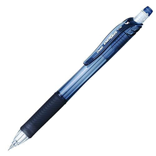 Pentel EnerGize-X Mechanical Pencil 0.5mm Black Barrel, Box of 12 (PL105A)