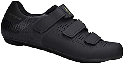 SHIMANO SH-RC100 Feature-Packed Entry Level Road Shoe, Black, Mens EU 43   Mens US 8.5-9