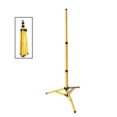 VINGO Telescopico treppiedi bis 160 cm per faretto a LED luce di inondazione lampada da lavoro faro Work lampada