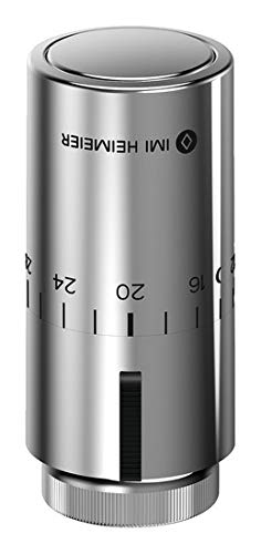 IMI Heimeier Thermostat-Kopf Halo 7500-00.501 verchromt 6-28°C Heizkörperregler