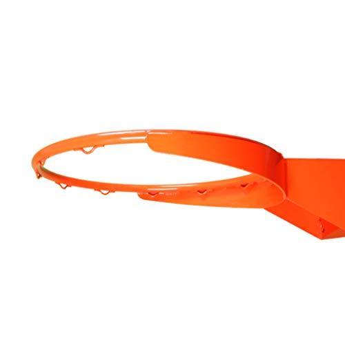 CDsport, Canasta de Baloncesto Exterior e Interior Regulación, Cesta Profesional, Anillo de Pared, Baloncesto Hoop, Resistente y Duradera, Calidad Premium, Made in Italy