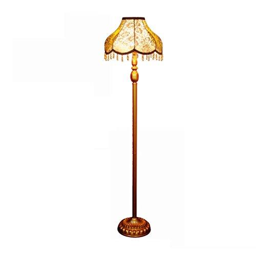 ZUQIEE Europäische - Style Wohnzimmer Lampe Wohnzimmer Schlafzimmer Arbeitszimmer Licht Luxusmode-Pastoral Retro Künstlerische