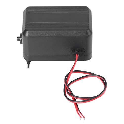 Mini bomba de aire eléctrica para inflables Bomba de aire rápida silenciosa 4.5L/Min para colchones de aire Camas Barcos Anillo de natación Juguetes inflables para piscina(DC12 / 24V)