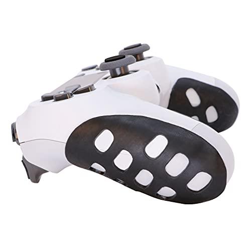 Setex Gecko Grip Playstation 4 Microstrutturato Controller Grip Pad, fatto negli Stati Uniti, controllo antiscivolo con sudore (1 set, 8 skin per PS4) ultra sottile 1 mm, nero