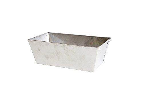 Loaf Pan Large 9x5 Stainless Steel - Hand Made In USA - Not Polished _ Food Service Grade
