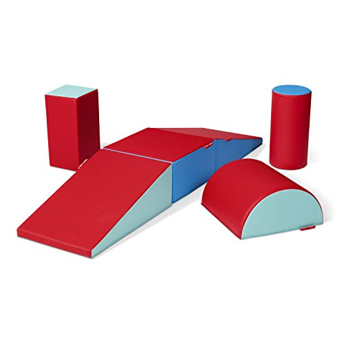 Radio Flyer Tumble Town Foam Blocks - Candy, Kids Indoor Climbers & Play Structure, Ages 9 Months - 3 Years