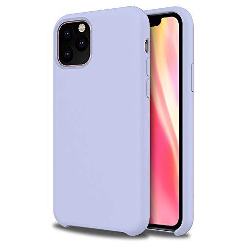 Fundas Iphone 11 Pro Max Silicona Lila Marca Olixar