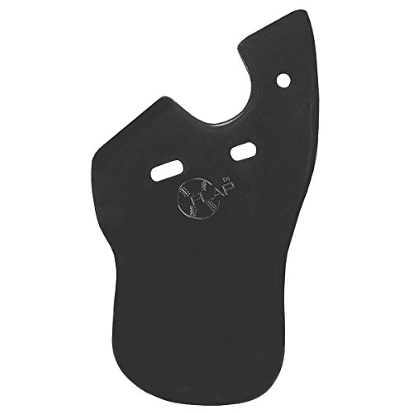 Markwort C-Flap Face Protector for Right Handed Batters Matte Black