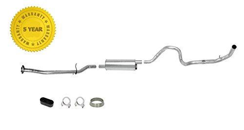 Fits For 1990-1992 4.0L Ford Ranger Only With 125 Inch Wheel Base Muffler Exhaust System