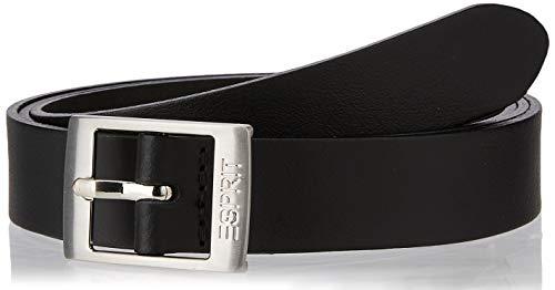 ESPRIT Accessoires Damen 099Ea1S001 Gürtel, Schwarz (Black 001), 6641 (Herstellergröße: 90)