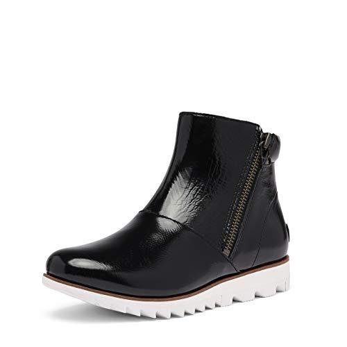 Sorel Women's Harlow Zip Boot - Rain - Waterproof - Black - Size 10