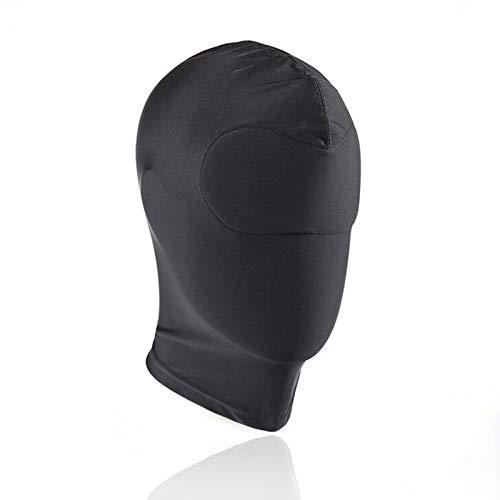 JIAHAO Rollenspiel-Kostüm für den gesamten Kopf, Kopfbedeckung, Kopfbedeckung, Augenbinde für Damen und Herren (Abdeckung von Augen und Mund)