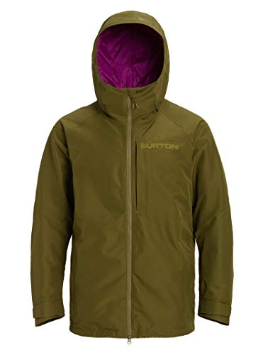Burton Mens Gore-Tex Radial Shell Jacket, Keef, X-Large