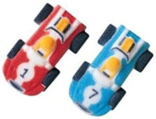 Race Cars Sugar Decorations Cookie Cupcake Cake 12 Count