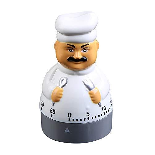 Gobesty Küchentimer Koch, küchenwecker Mechanisch Kurzzeitmesser Eieruhr Home Backen Kochen Steaming Manual Timer