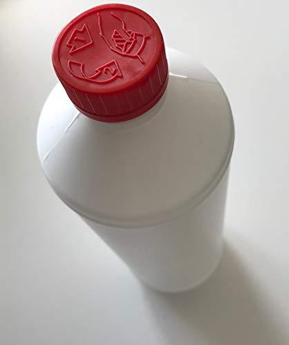 Wasserlack mit nano Keramik Partikeln (1 l): Für Parkett- und Korkböden und Korkmosaik/lösemittelfrei/PUR/hoch elastisch/streichbar/spachtelbar/klar - transparent/kratzfest