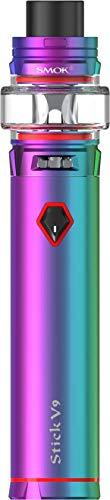 Stick V9 E-Zigarette mit TFV Baby V2 Verdampfer - 3000mAh - 5ml Volumen - von Smok - Farbe: (regenbogen)