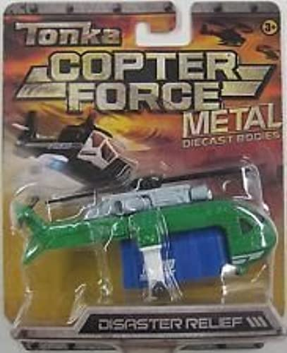 Disaster Relief Helicopter by Tonka - Diecast Metal by Tonka