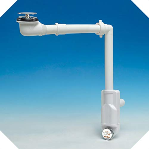 Siphon für Badezimmer, für Waschbecken mit Ablaufgarnitur Basketball und Badezimmer.