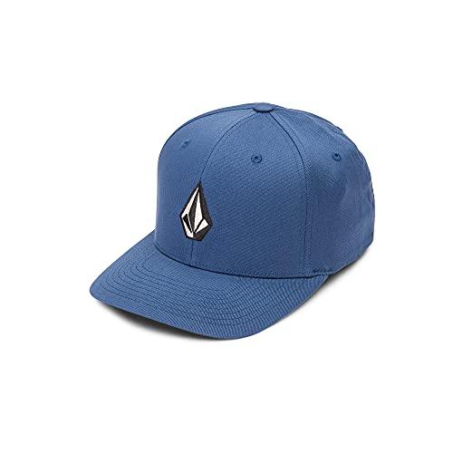 Volcom Full Stone Xfit Cappello, Blu (Smokey Blue), L-XL Uomo