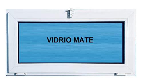 Ventana pvc 1000x500 Abatible Golpete Climalit Mate, Blanco