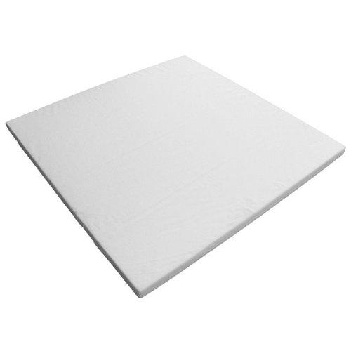 Kidsmax Laufgittermatratze für 75x100 Laufgitter in weiß D3