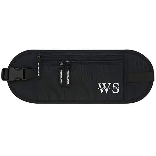 Dinero cinturón para viajar oculto seguridad bolsa bolsa de cintura teléfono...