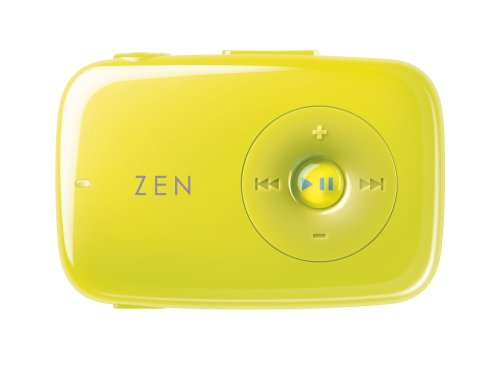 Creative Zen Stone 1 GB MP3 Player (Lime Green)