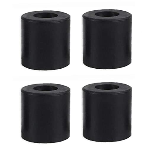 Silica colum 3D Printer Hot Bed Column Heatbed Silicone Leveling Column Heat-Resistant Stable Black Mounts Column Tools Accessaries 4 PCS