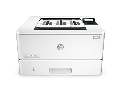 HP LaserJet Pro M402Dn - Impresora (A4, 38 ppm, Duplex, USB) color blanco
