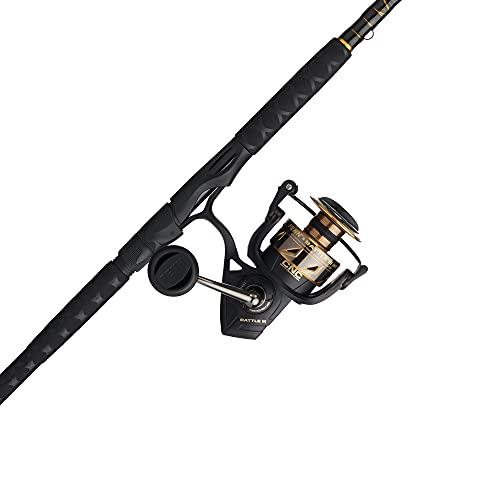 PENN Battle Spinning Reel and Fishing Rod Combo
