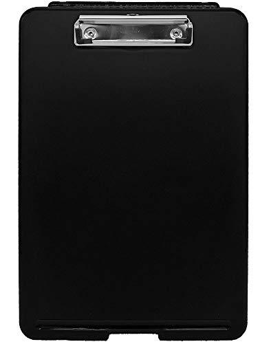 Idena 10869 - Klemmbrett-Box schwarz, 1 Stück