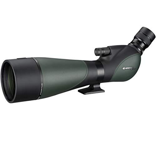 Bresser Spektiv Pirsch 25-75x100 Gen. II mit Deluxe 10:1 Fokus, hochwertiger Phasenvergütung und Stickstoff gefülltem Wasserdichten Gehäuse, grün